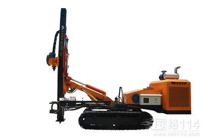YGL100型柴动电动双动力全液压履带锚固多功能钻